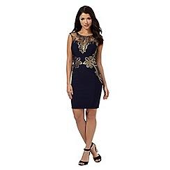 Lipsy - Michelle Keegan loves Lipsy navy sleeveless lace detail dress