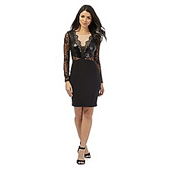 Lipsy - Michelle Keegan loves Lipsy black sequinned dress