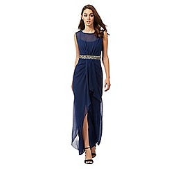 Lipsy - Navy studded maxi dress