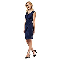 Lipsy - Blue wrap dress