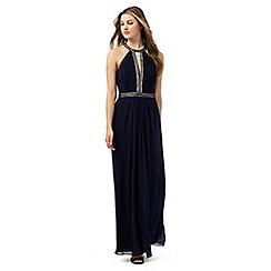 Lipsy - Navy embellished maxi dress