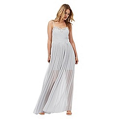 Lipsy - Silver embellished maxi dress