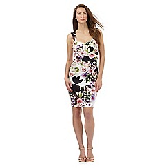 Lipsy - Multi-coloured floral print dress