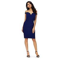 Laced In Love - Blue embellished strap dress