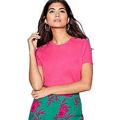 Red Herring - Pink stud shoulder t-shirt