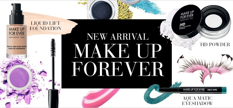 Beauty New Brand Alert: Make Up For Ever