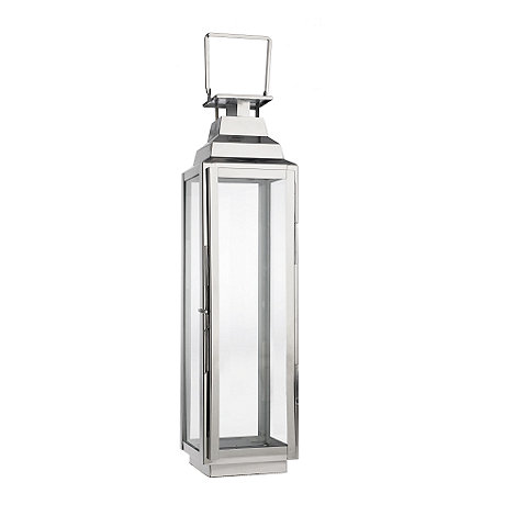 Home Collection - Medium decorative silver lantern