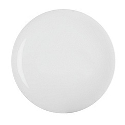 Denby - White bone china dinner plate