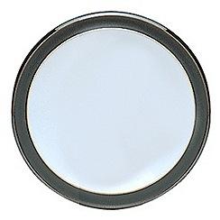 Denby - Black glazed 'Jet' tea plate