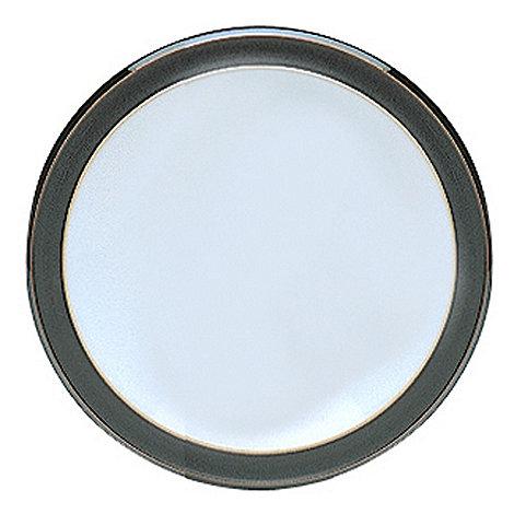 Denby - Black glazed +Jet+ tea plate