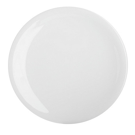 Denby - White bone china dessert plate