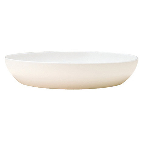 Denby - White bone china pasta bowl