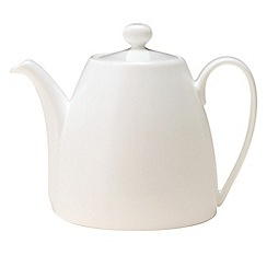 Denby - White bone china teapot