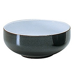 Denby - Jet grey soup bowl