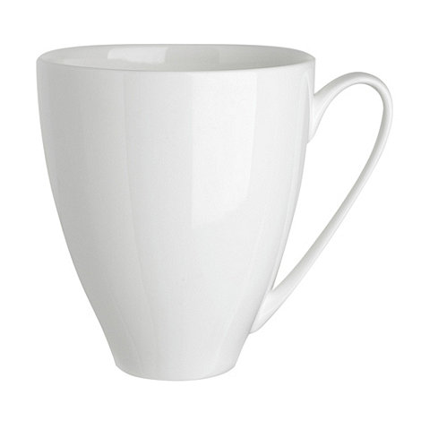 Denby - White bone china large mug