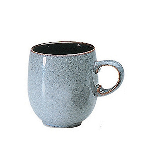 Denby - Grey +Jet+ mug