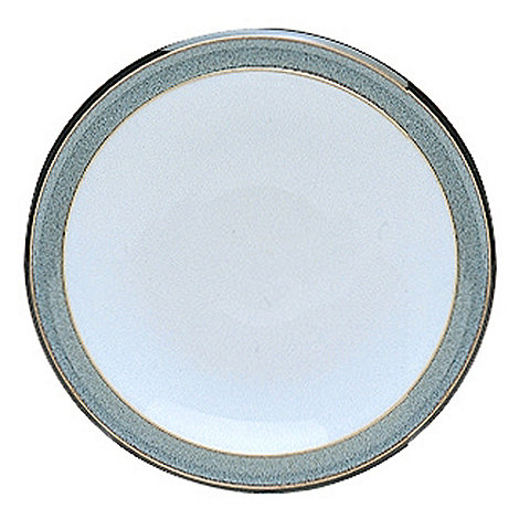 Denby - Grey glazed +Jet+ tea plate