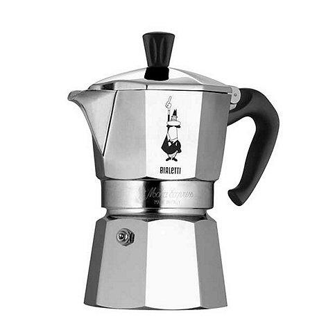 Bialetti - Aluminium +Moka+ express 6 cup espresso maker