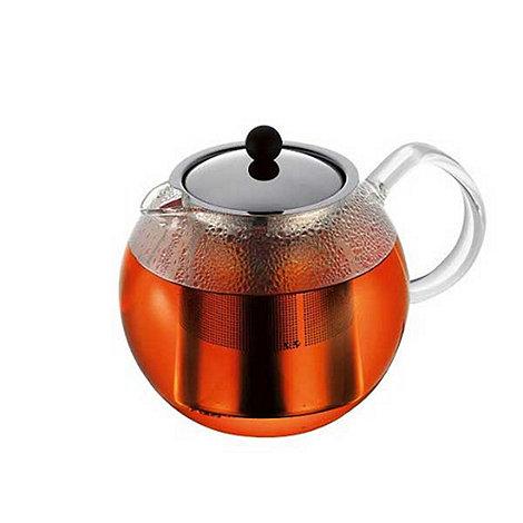 Bodum - Stainless steel +Assam+ teapot