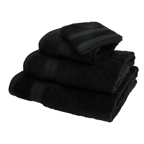 Home Collection - Black Egyptian cotton towels