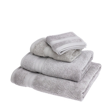 Home Collection - Silver coloured Egyptian cotton towels