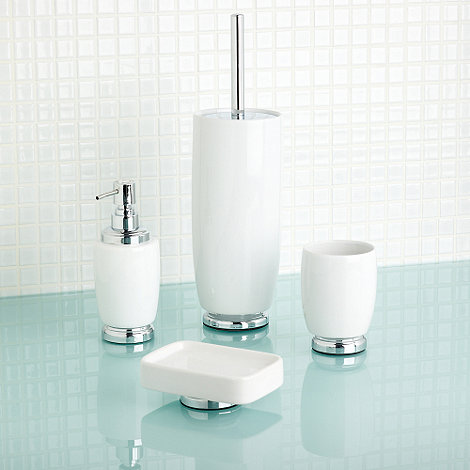 Home Collection - White salle de bain bathroom accessories
