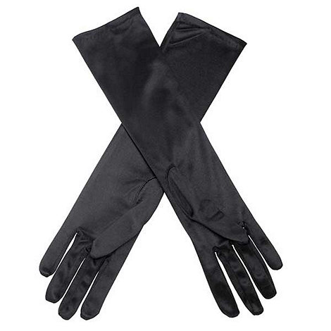Debut - Long black evening gloves