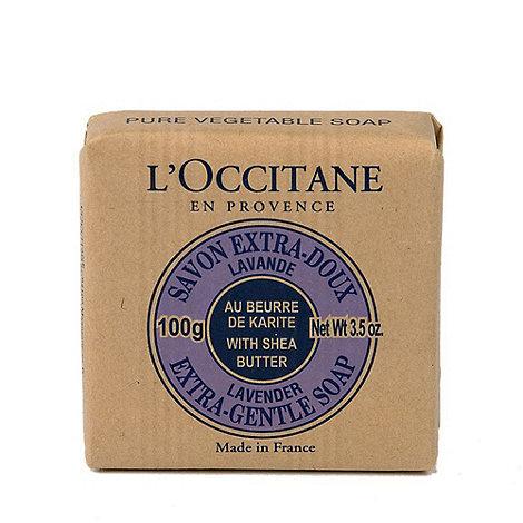 L+Occitane en Provence - +Lavender+ extra gentle soap 100g