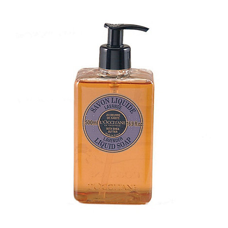 L+Occitane en Provence - Shea Butter Liquid Soap - Lavender 500ml