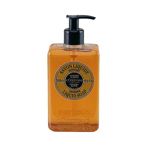L+Occitane en Provence - Shea Butter Liquid Soap - Verbena 500ml