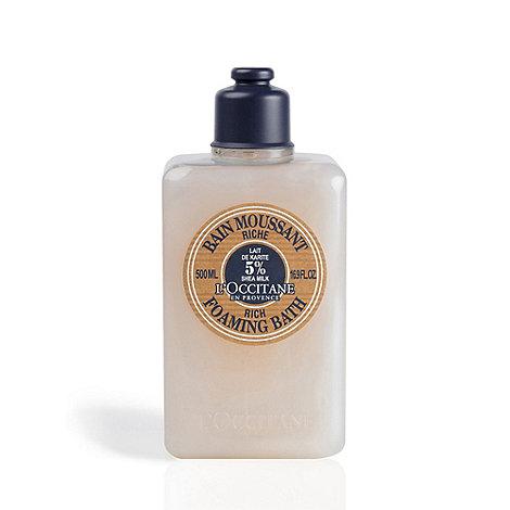 L+Occitane en Provence - +Shea Milk+ foaming bath cream 500ml