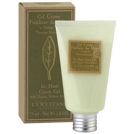L+Occitane en Provence - Verbena Ice Hand Cream Gel 75ml