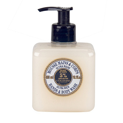 L+Occitane en Provence - Shea Butter Extra Gentle Wash for Hands and Body 300ml