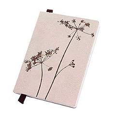 Debenhams - Large floral print notebook