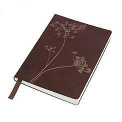 Debenhams - Small floral print notebook