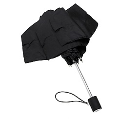 Totes - Black  thin, round umbrella
