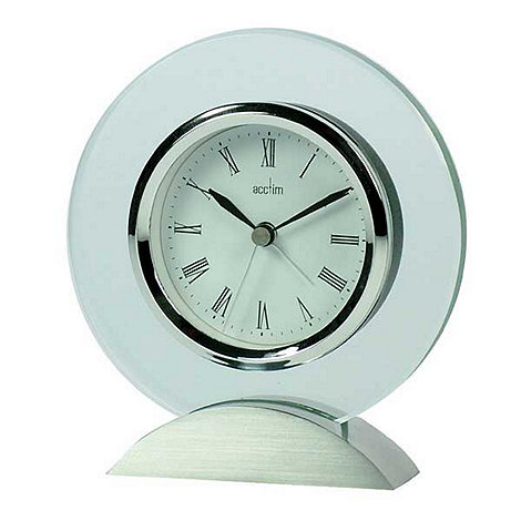 Acctim - Glass mantel clock