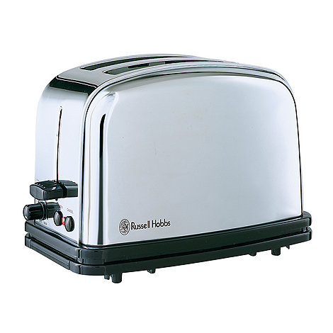 Russell Hobbs - Silver classic two slice toaster