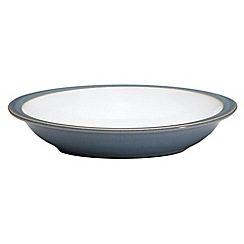 Denby - Aqua Azure rimmed bowl