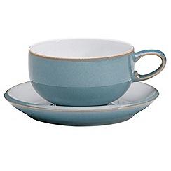 Denby - Azure tea saucer