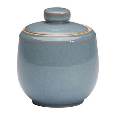 Denby - Azure sugar bowl with lid
