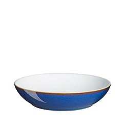 Denby - Glazed 'Imperial Blue' pasta bowl