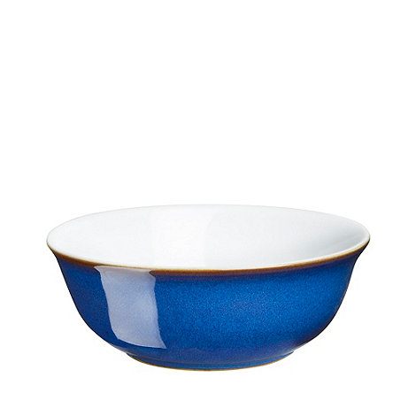 Denby - Glazed +Imperial Blue+ cereal bowl