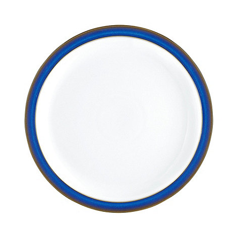 Denby - Glazed +Imperial Blue+ dinner plate