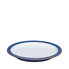 Denby - Glazed 'Imperial Blue' tea plate