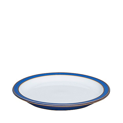 Denby - Glazed +Imperial Blue+ tea plate