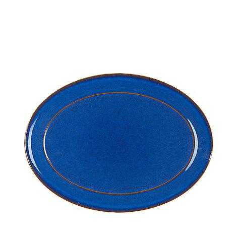 Denby - Imperial blue oval platter