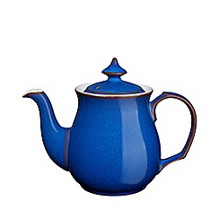 Denby - Glazed 'Imperial Blue' teapot