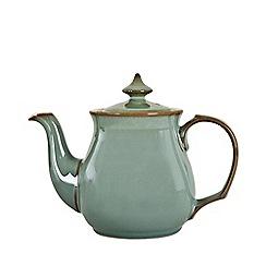 Denby - Glazed 'Regency Green' teapot