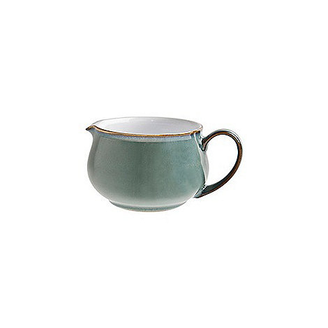 Denby - Glazed +Regency Green+ sauce boat
